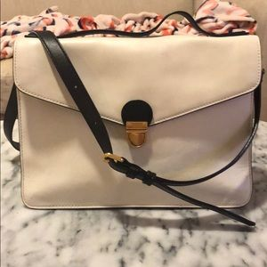 Marc by Marc Jacobs Cream and Black Crossbody